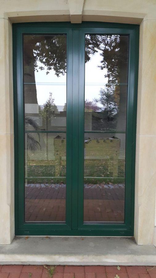 Niemcy Stolarka Aluminiowa Aluminiowe Drzwi Zewnętrzne